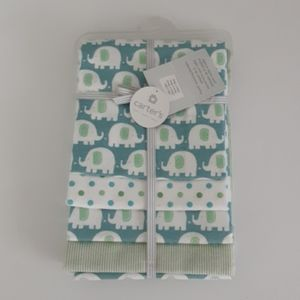 Carters 4 pack cotton baby receiving blankets